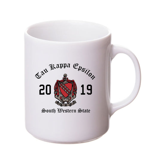 Tau Kappa Epsilon Collectors Coffee Mug