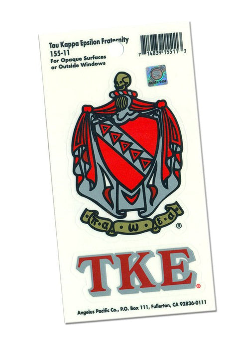 Tau Kappa Epsilon Crest Decal