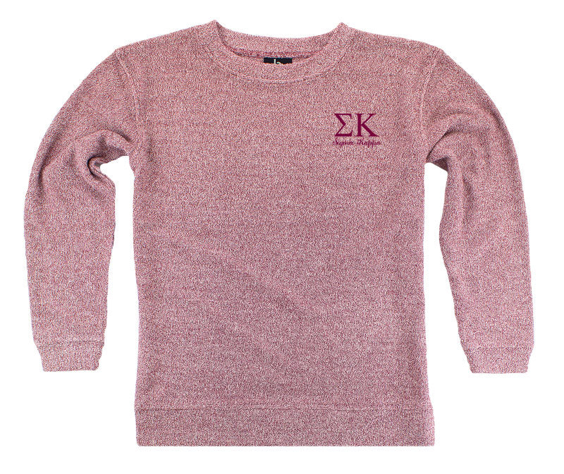 Sigma Kappa Lettered Cozy Sweater