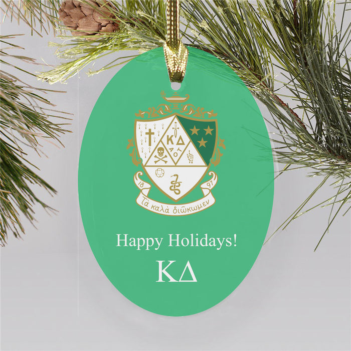 Kappa Delta Color Crest Ornament