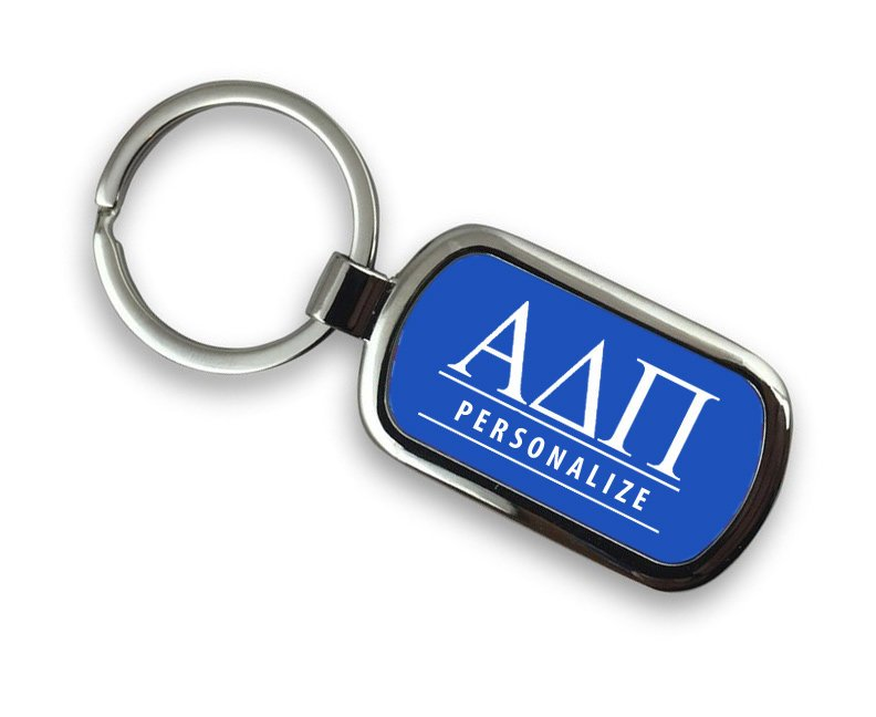 Alpha Delta Pi Chrome Key Chain