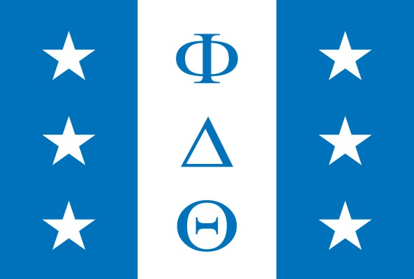 Phi Delta Theta Fraternity Flag Sticker