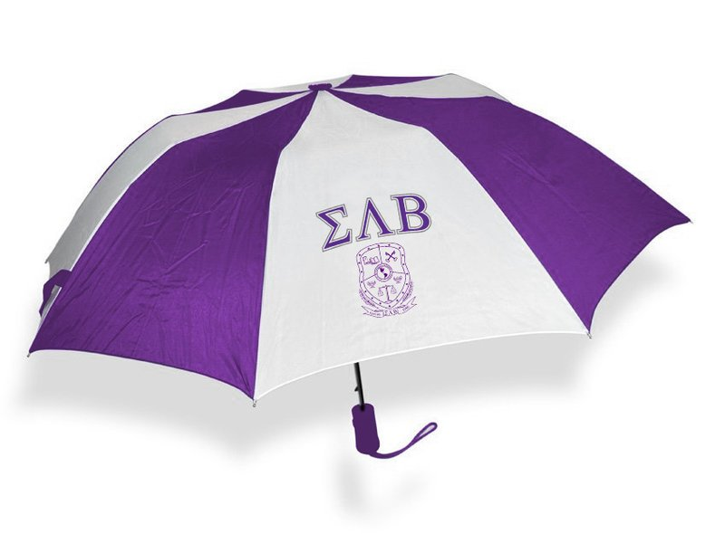 Sigma Lambda Beta Crest Umbrella
