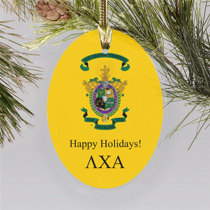 Lambda Chi Alpha Color Crest Ornament