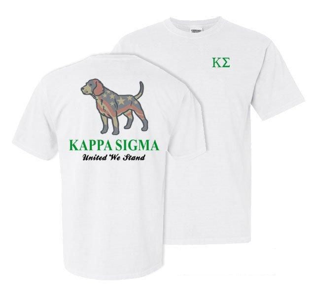 Kappa Sigma Stand Tall Comfort Colors Heavy Tee