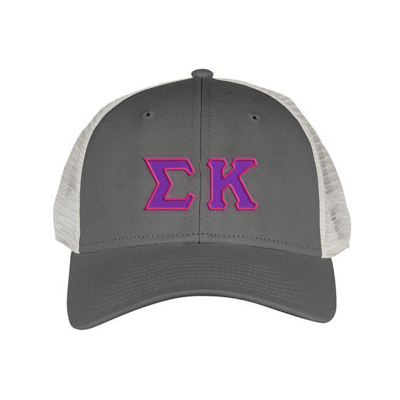Sigma Kappa Greek Trucker Cap
