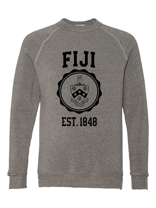 Phi Gamma Delta Alternative Eco Fleece Champ Crewneck Sweatshirt