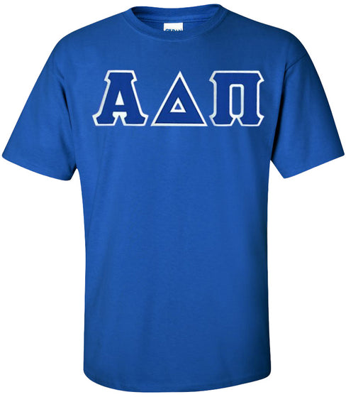 Alpha Delta Pi Lettered T Shirt