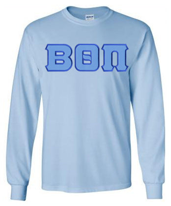 Beta Theta Pi Long Sleeve Greek Lettered Tee