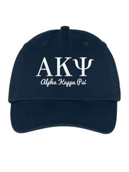 Alpha Kappa Psi Collegiate Curves Hat
