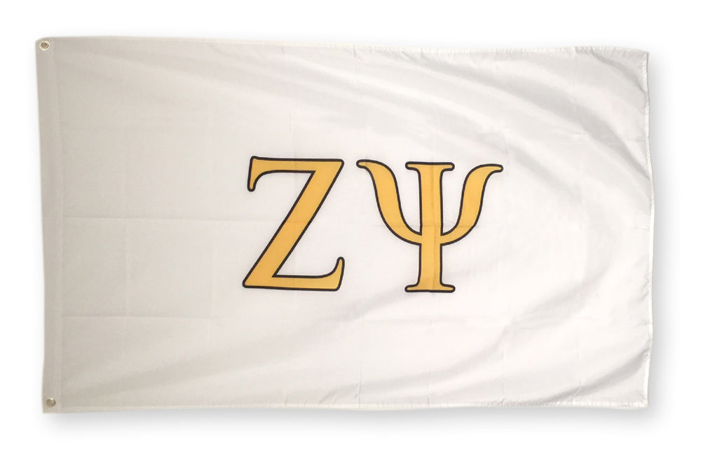 Zeta Psi Big Flag