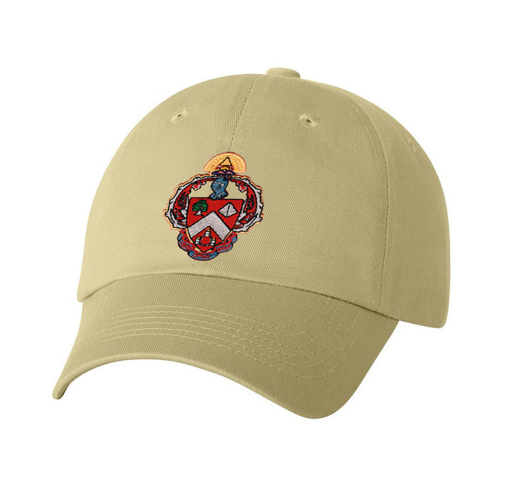 Triangle Fraternity Crest Baseball Hat