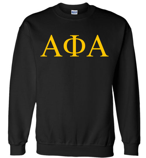 Alpha Phi Alpha World Famous Lettered Crewneck Sweatshirt