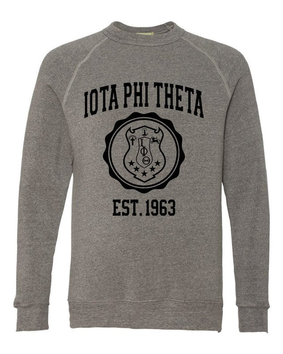 Iota Phi Theta Alternative Eco Fleece Champ Crewneck Sweatshirt