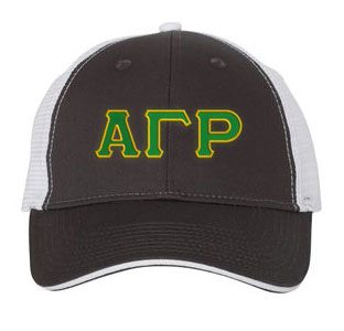 Alpha Gamma Rho Greek Trucker Cap