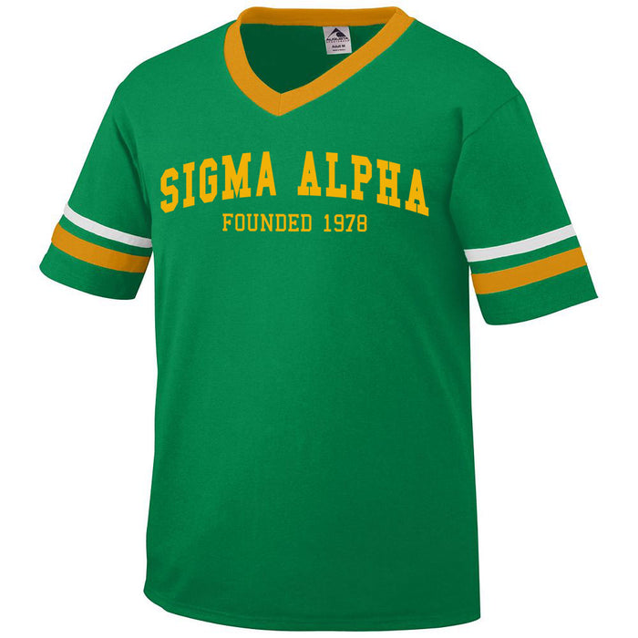 Sigma Alpha Founders Jersey