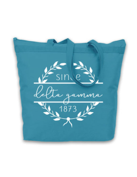Delta Gamma Since Established Tote