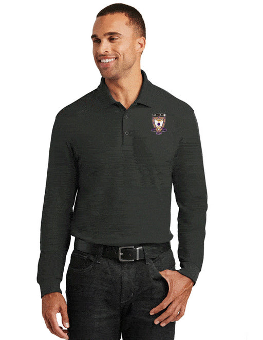 Sigma Alpha Mu Long Sleeve Polo