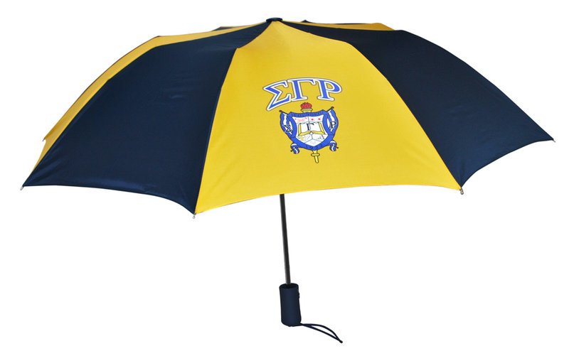 Sigma Gamma Rho Crest Umbrella