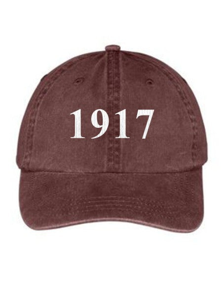 Sigma Delta Tau Year Established Embroidered Hat