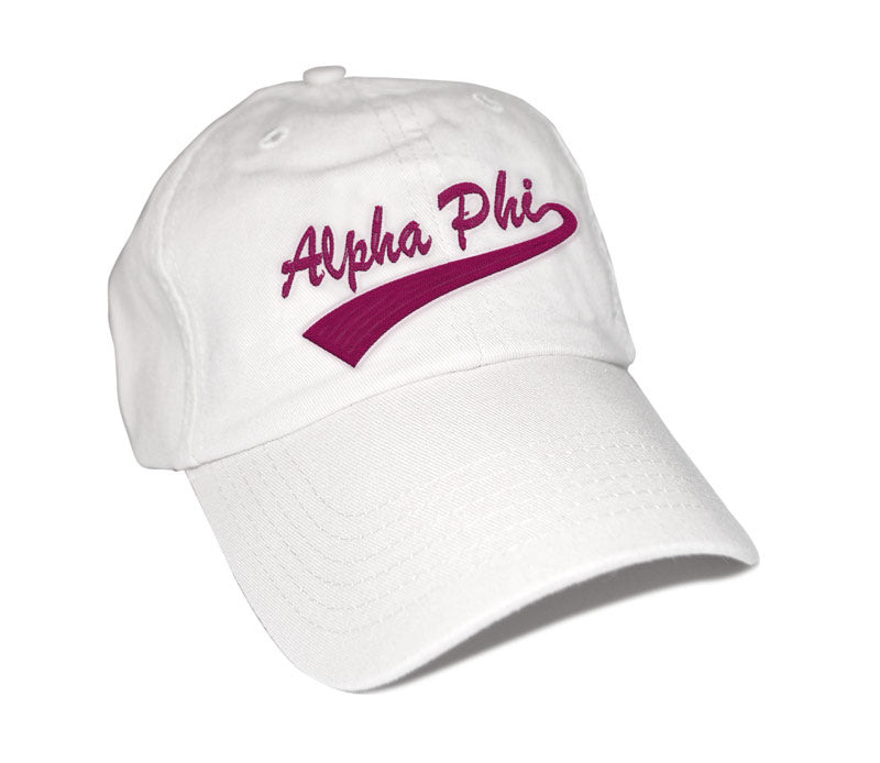 Alpha Phi New Tail Baseball Hat
