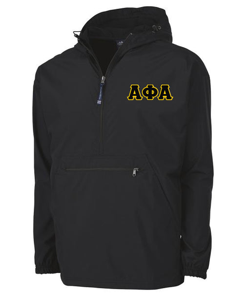 Alpha Phi Alpha Embroidered Pack and Go Pullover