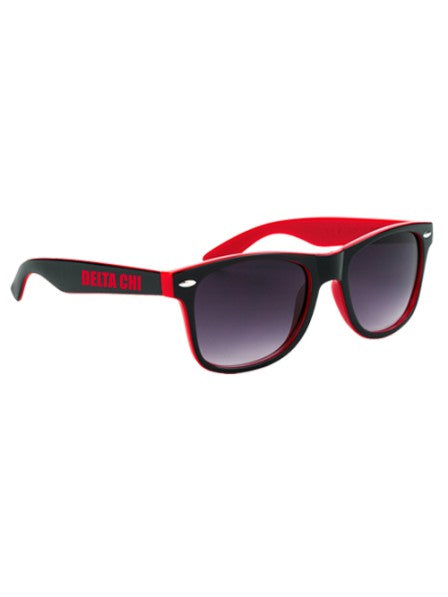 Delta Chi Two-Tone Malibu Sunglasses