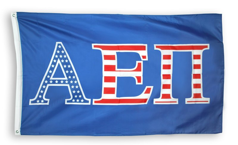 Alpha Epsilon Pi Patriotic Flag