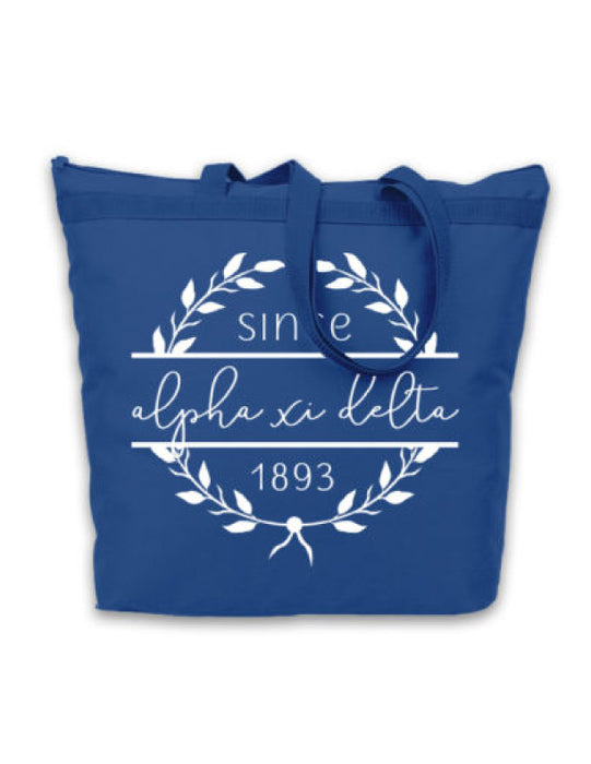 Alpha Xi Delta Since Established Tote
