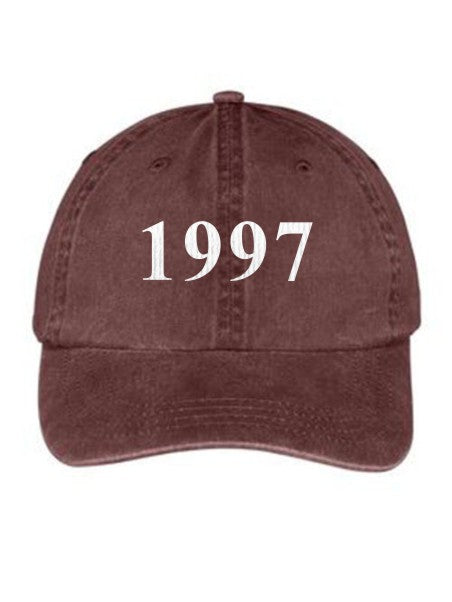 Theta Nu Xi Year Established Embroidered Hat