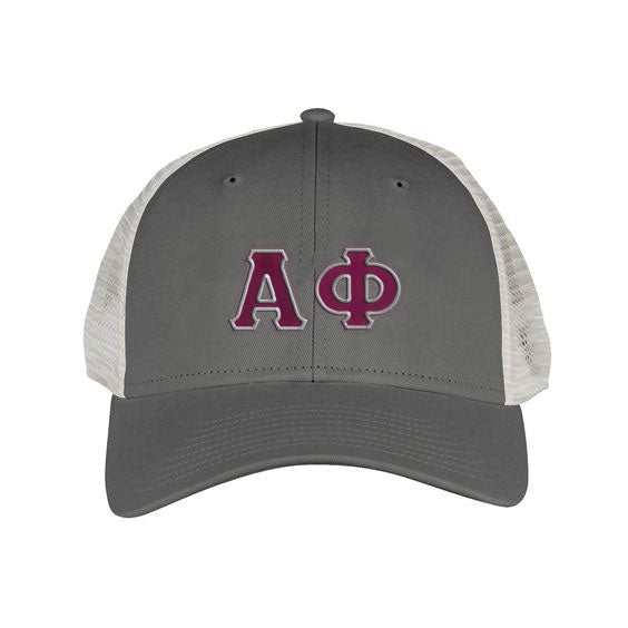 Alpha Phi Greek Trucker Cap