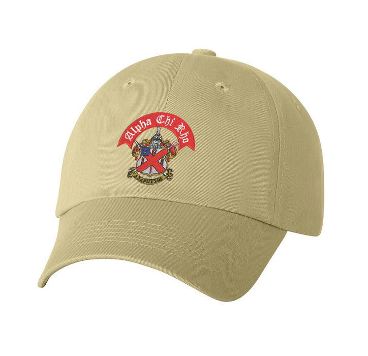 Alpha Chi Rho Crest Baseball Hat