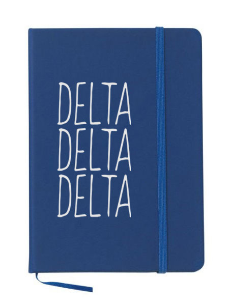 Delta Delta Delta Mountain Notebook