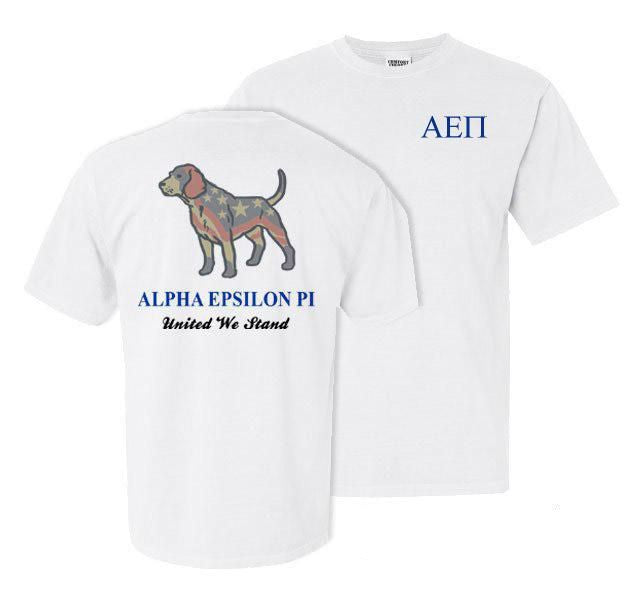 Alpha Epsilon Pi Stand Tall Comfort Colors Heavy Tee