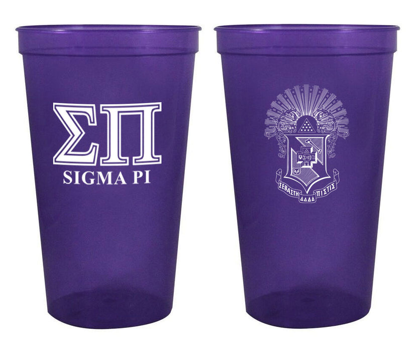 Sigma Pi Fraternity New Crest Stadium Cup