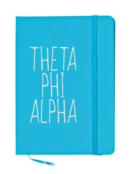 Theta Phi Alpha Mountain Notebook