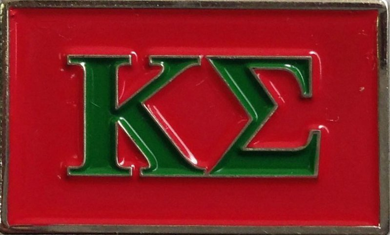 Kappa Sigma Fraternity Flag Pin