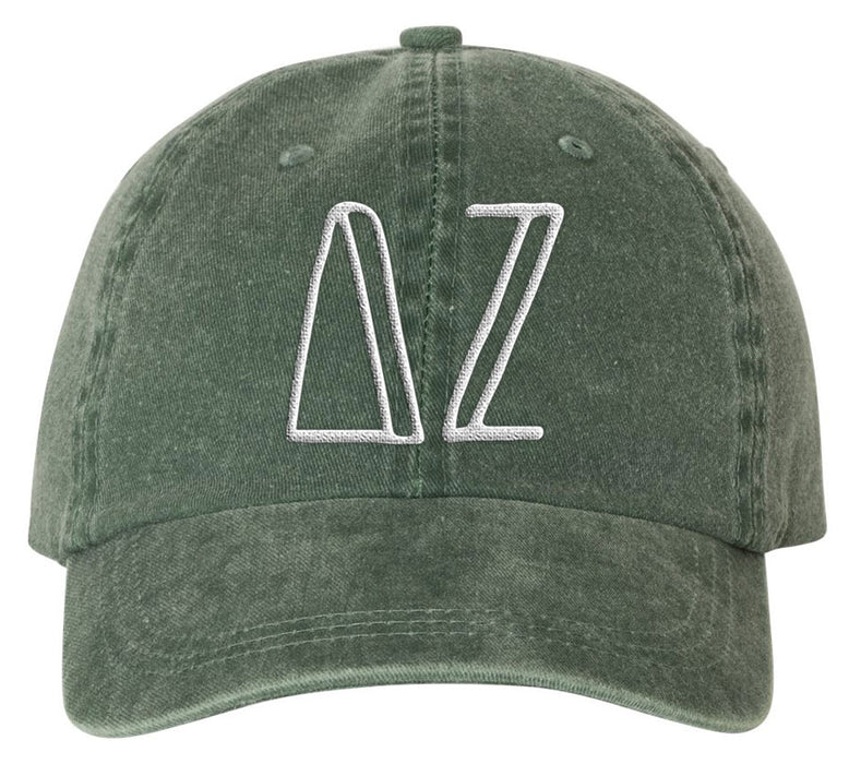 Delta Zeta Sorority Greek Carson Embroidered Hat