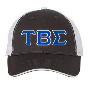 Tau Beta Sigma Greek Trucker Cap