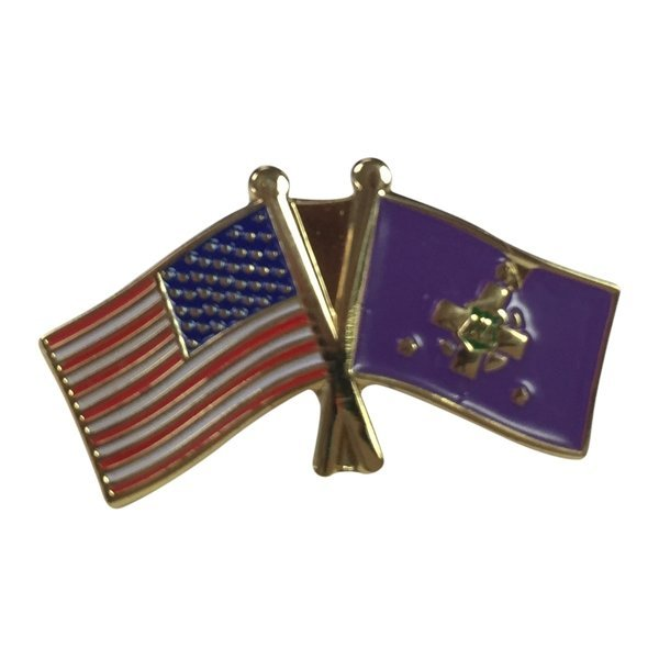 Lambda Chi Alpha USA / Fraternity Flag Pin