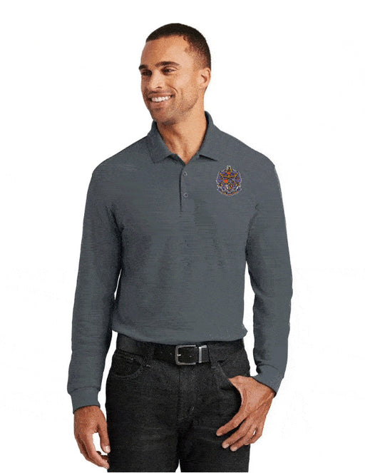 Sigma Alpha Epsilon Long Sleeve Polo