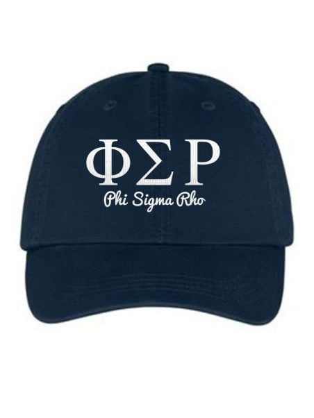 Phi Sigma Rho Collegiate Curves Hat