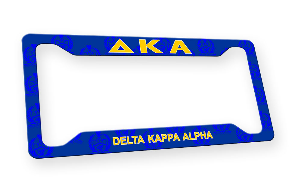 Delta Kappa Alpha New License Plate Frame