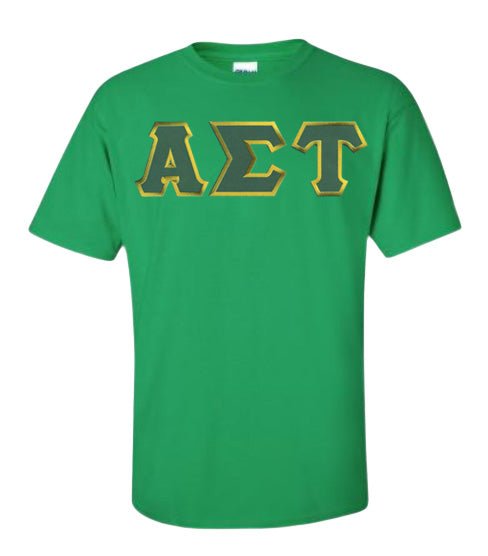Alpha Sigma Tau Lettered T Shirt