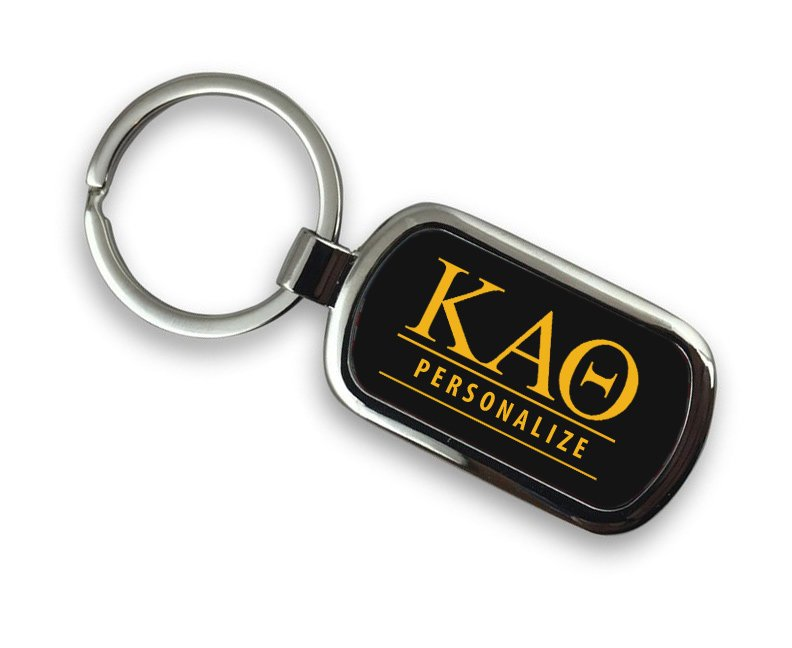 Kappa Alpha Theta Chrome Key Chain