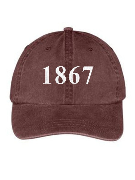 Pi Beta Phi Year Established Embroidered Hat