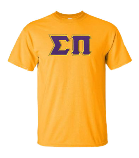 Sigma Pi Lettered T Shirt