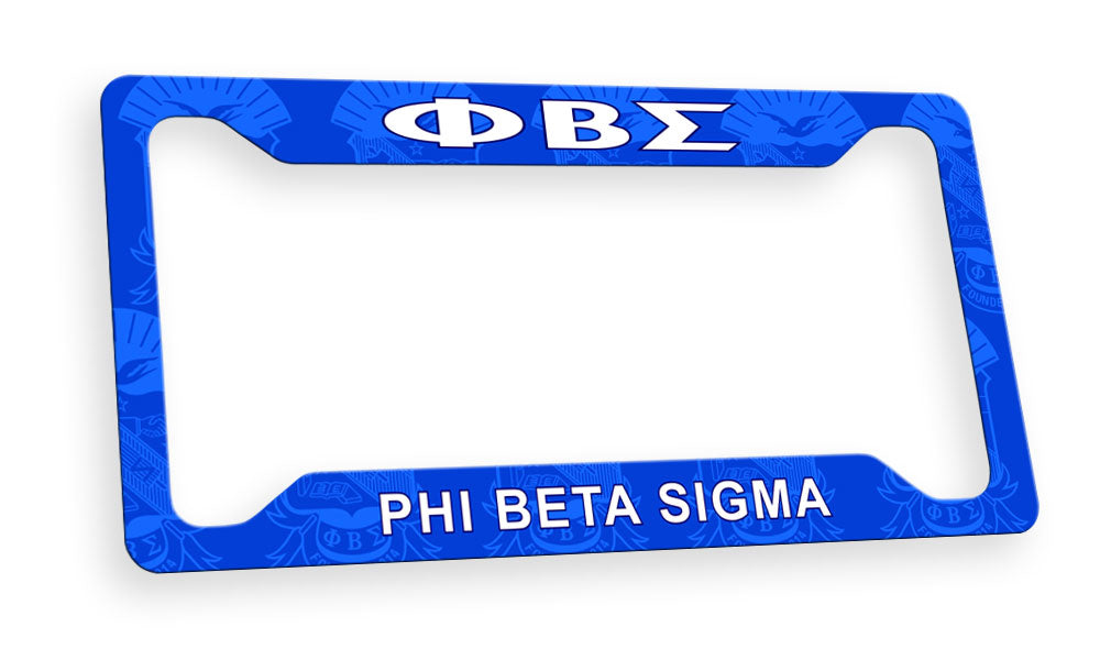 Phi Beta Sigma New License Plate Frame