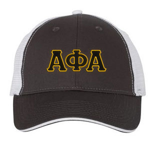 Alpha Phi Alpha Greek Trucker Cap