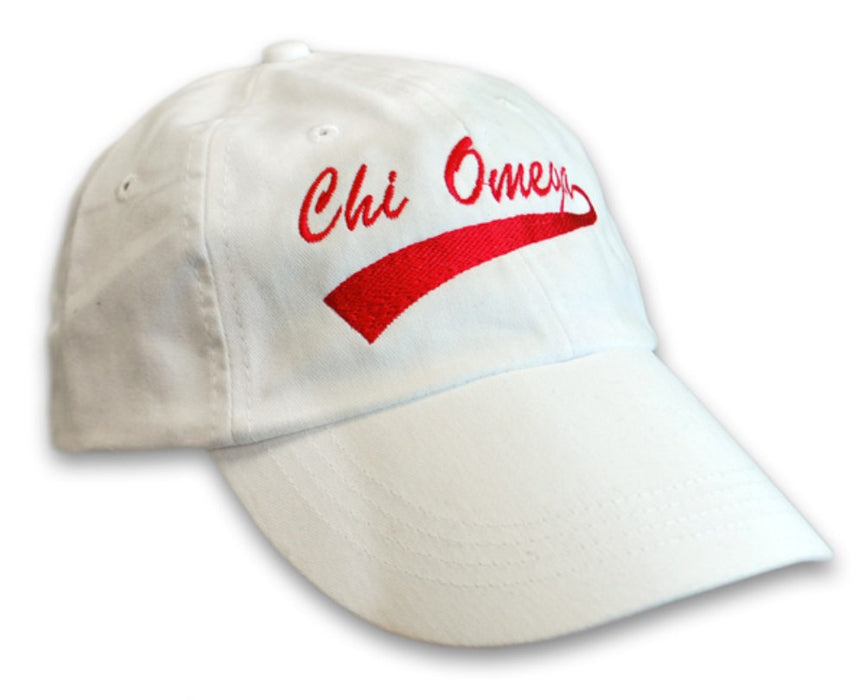 New Chi Omega 255 New Tail Baseball Hat